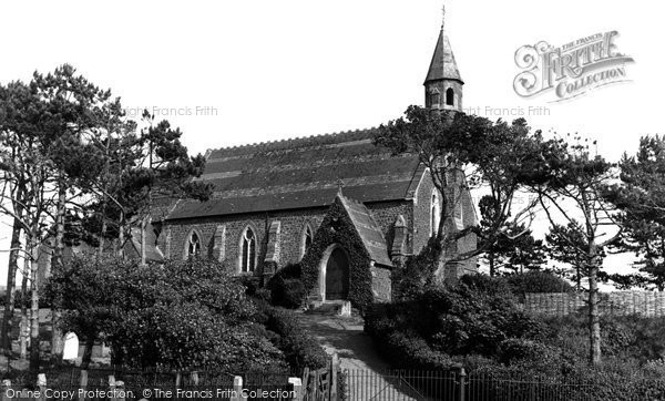 Borth, St Matthew's Church c.1950
