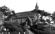 Borth, St Matthew's Church c.1950