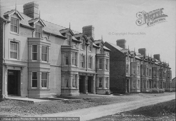 Borth, Terrace 1906