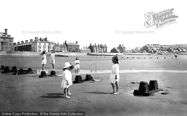 Borth, The Beach 1921