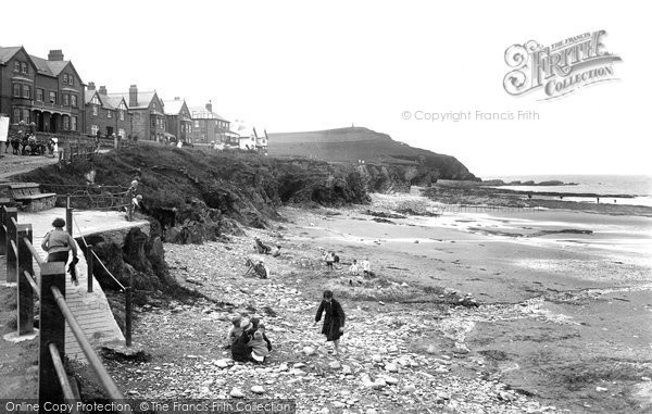 Borth, The Beach 1925