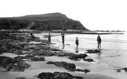 Borth, The Beach 1925