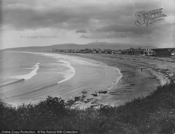 Borth, The Beach 1933