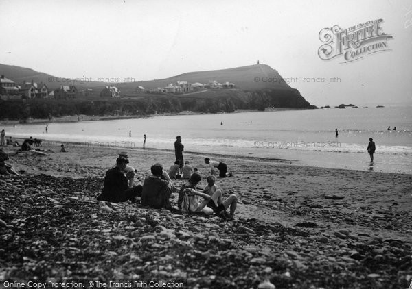 Borth, The Beach c.1933