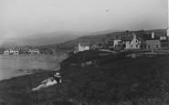 Borth, The Cliffs c.1935