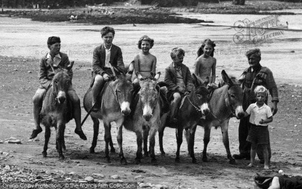 Borth, The Donkeys 1952