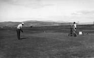 Borth, The Golf Course c.1955