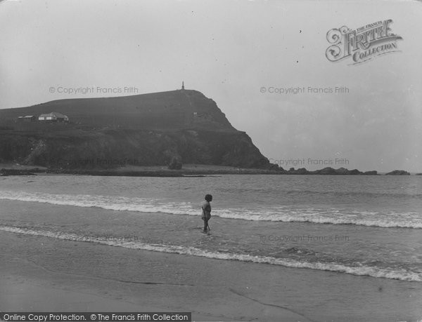 Borth, The Monument And Beach 1930