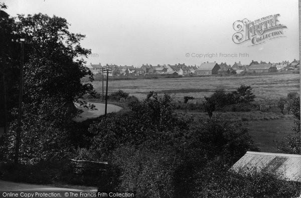 Borth, The Old Road c.1933