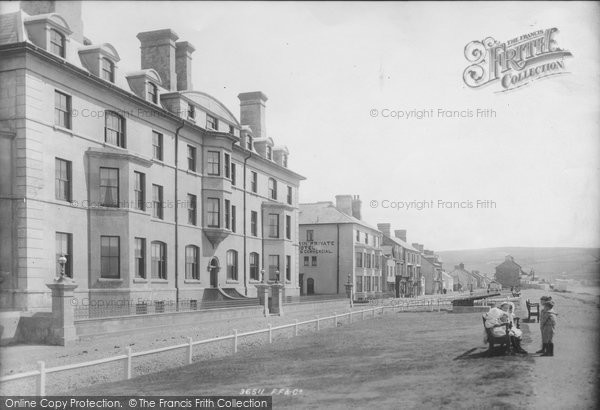 Borth, The Parade 1895