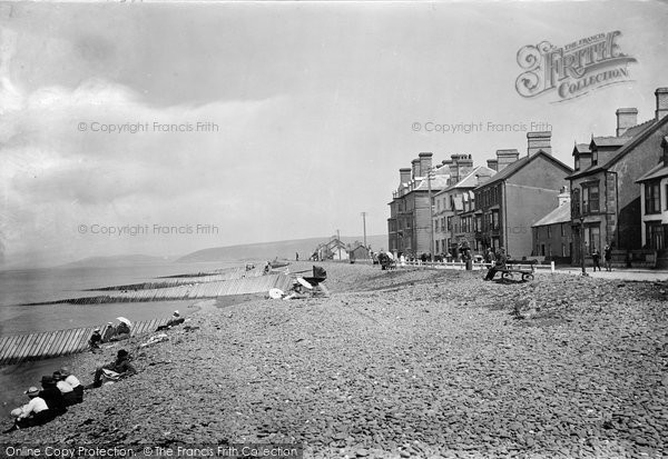 Borth, The Promenade 1921