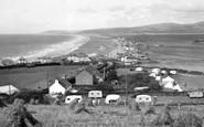 Borth, The Village c.1955