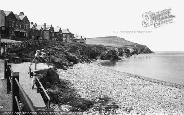 Borth, Upper Borth West End 1921