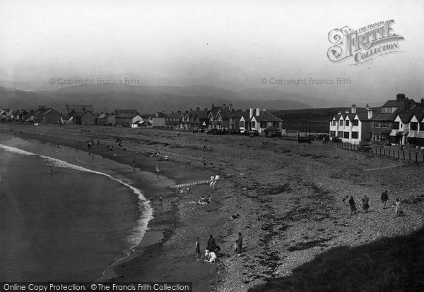 Borth, View From The Cliff c.1933