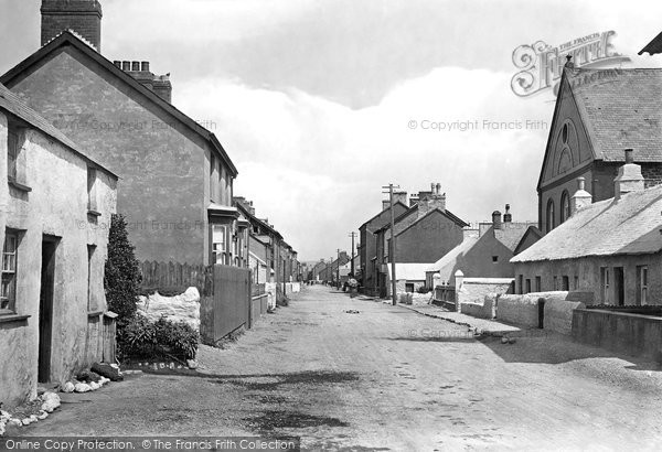 Borth, Wesleyan Place 1921