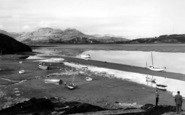 Borth-Y-Gest, Evening c.1960
