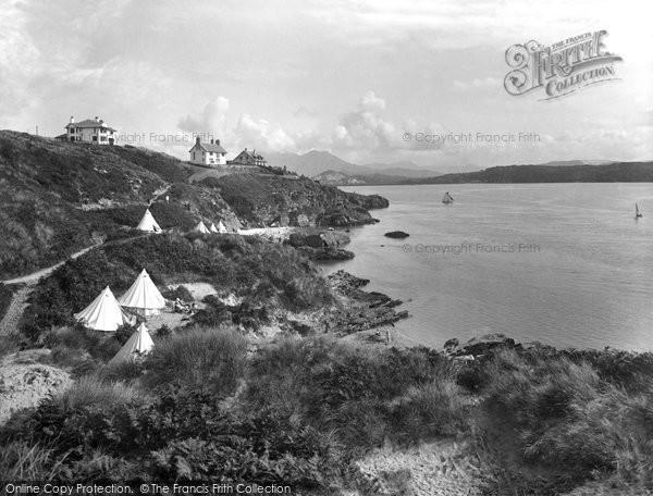 Borth Y Gest, Garreg Goch Cove 1930