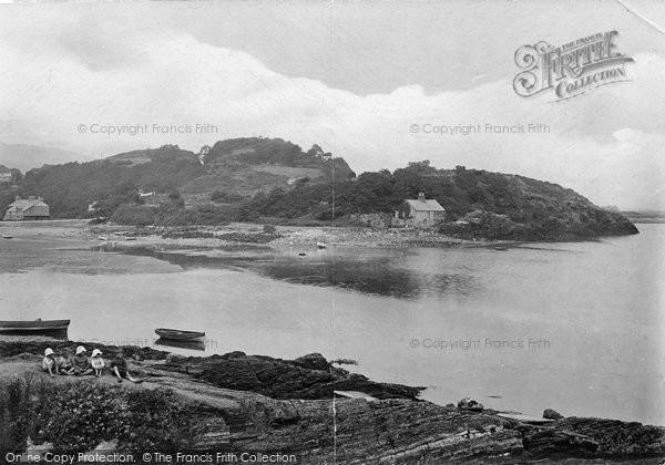 Borth Y Gest, Harbour 1921