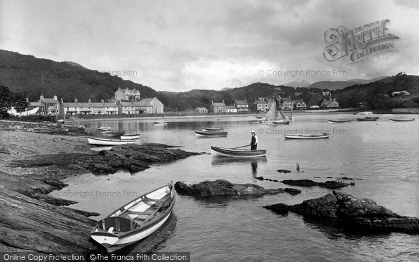 Borth Y Gest, Harbour 1930