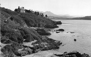Borth-Y-Gest, The Harbour c.1955