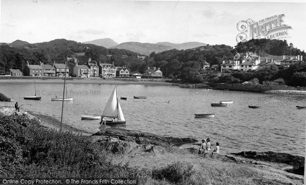 Borth Y Gest, The Harbour c.1955