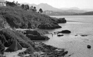 Borth-Y-Gest, The Shore c.1960