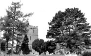 Bosbury, Church Tower And Churchyard c.1960