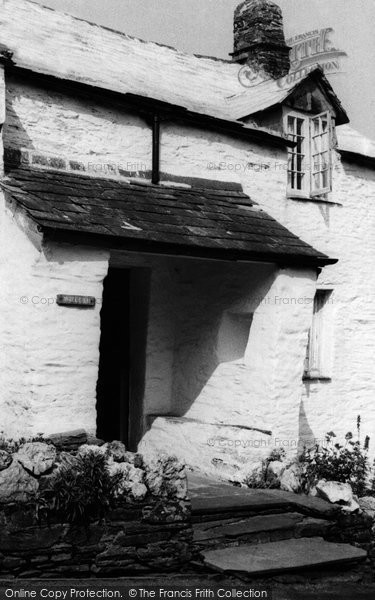 Boscastle, 14th Century Cottage c.1960