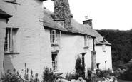 Boscastle, 14th Century Cottages c.1960