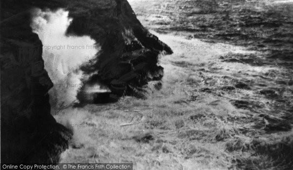 Boscastle, Blowing Hole  c.1960