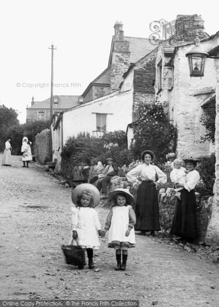 Boscastle, Going Shopping 1906