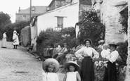 Boscastle, Going Shopping 1906