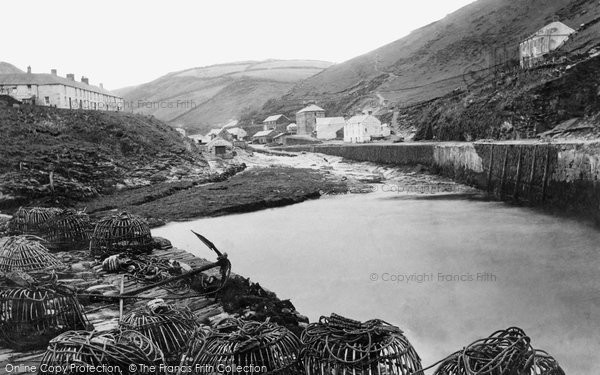 Boscastle, Harbour 1894