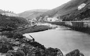 Boscastle, Harbour 1894