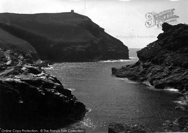 Boscastle, Harbour Entrance c.1955