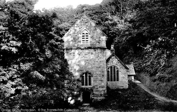 Boscastle, Minster Church 1895