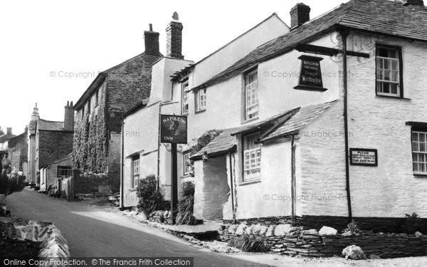 Boscastle, Napoleon Inn c.1960
