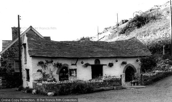 Boscastle, Pixie Shop c.1960
