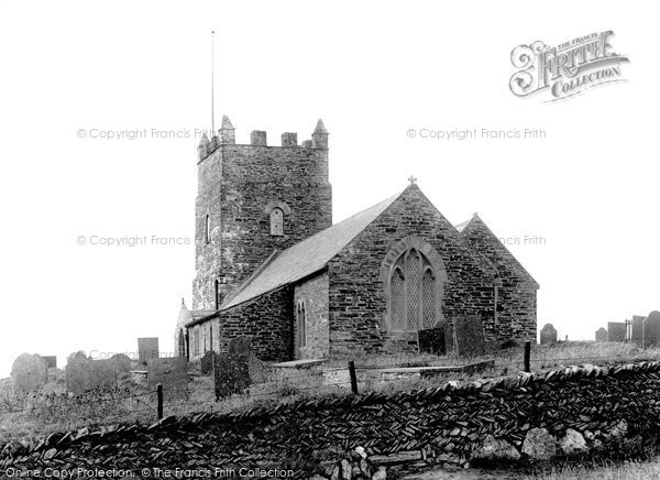 Boscastle, St Symphorian's Church 1894