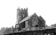 Boscastle, St Symphorian's Church 1894