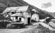 Boscastle, The Artist's Cottage 1936
