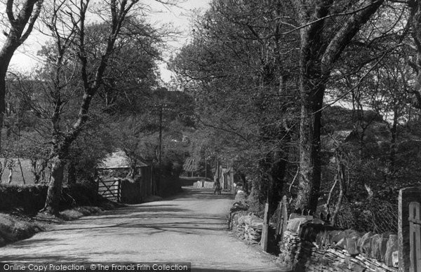 Boscastle, The Avenue c.1955