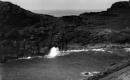Boscastle, The Bridge And Blow Hole c.1955