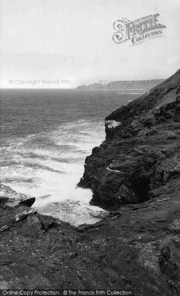 Boscastle, The Coast c.1955