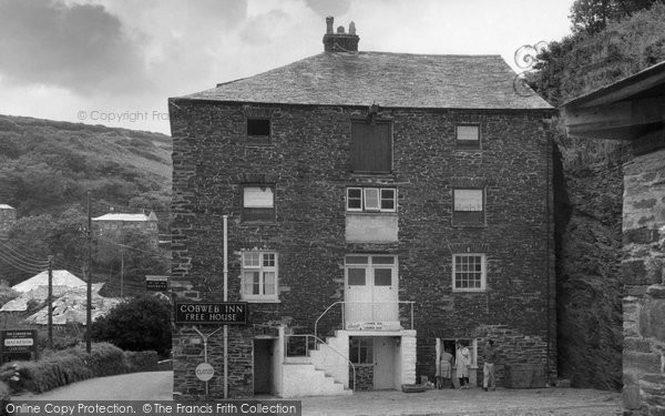 Boscastle, The Cobweb Inn c.1961