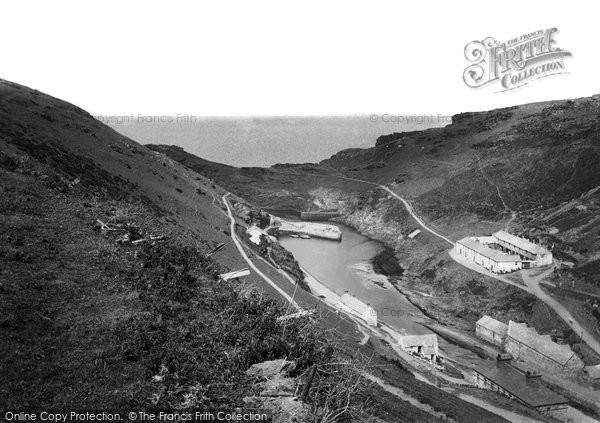 Boscastle, The Harbour 1894