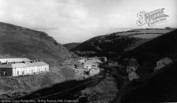 Boscastle, The Harbour And Upper Bridge  c.1960