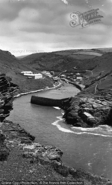 Boscastle, The Harbour c.1955