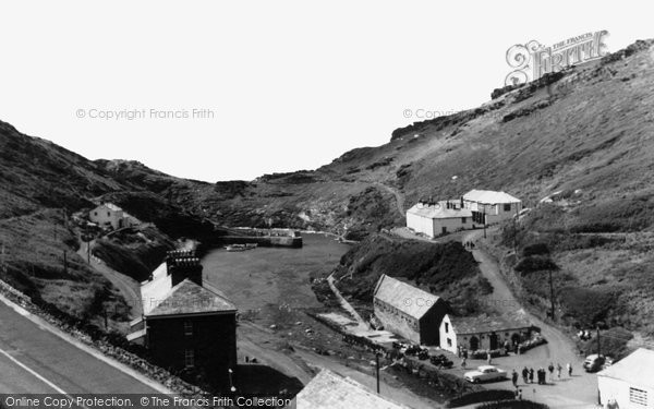 Boscastle, The Harbour  c.1960