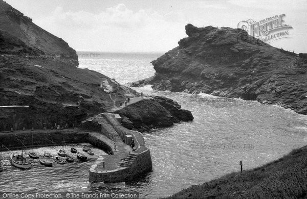 Boscastle, The Harbour c.1961